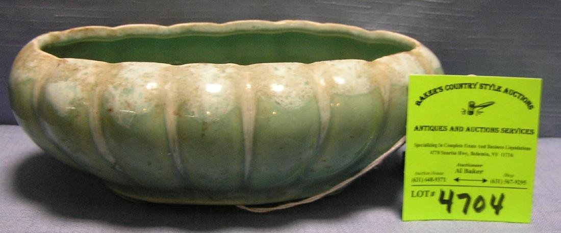 Vintage art pottery planter