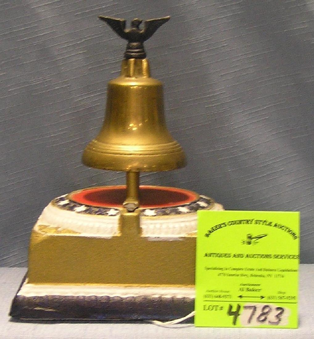 Liberty Bell mechanical bank