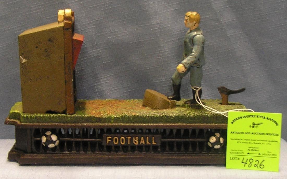 Football Mechanical Bank