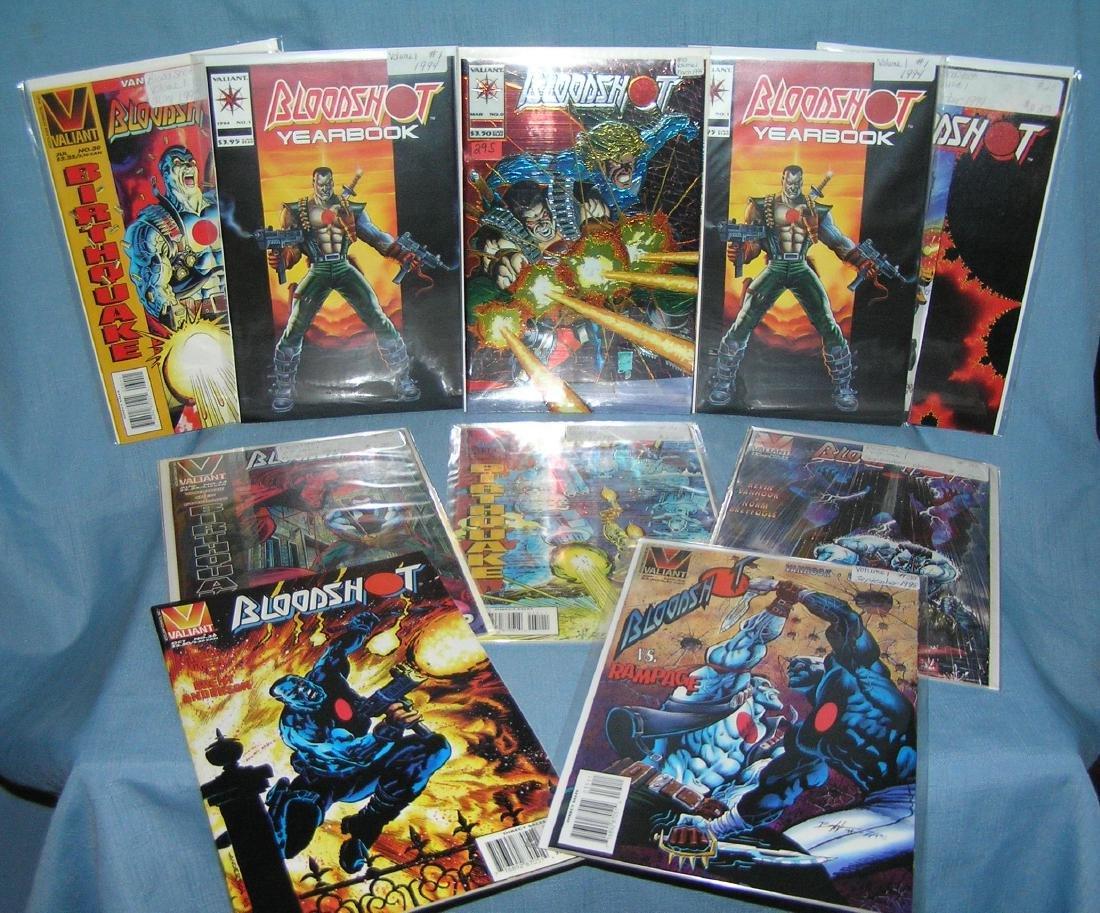 Group of vintage Bloodshot comic books