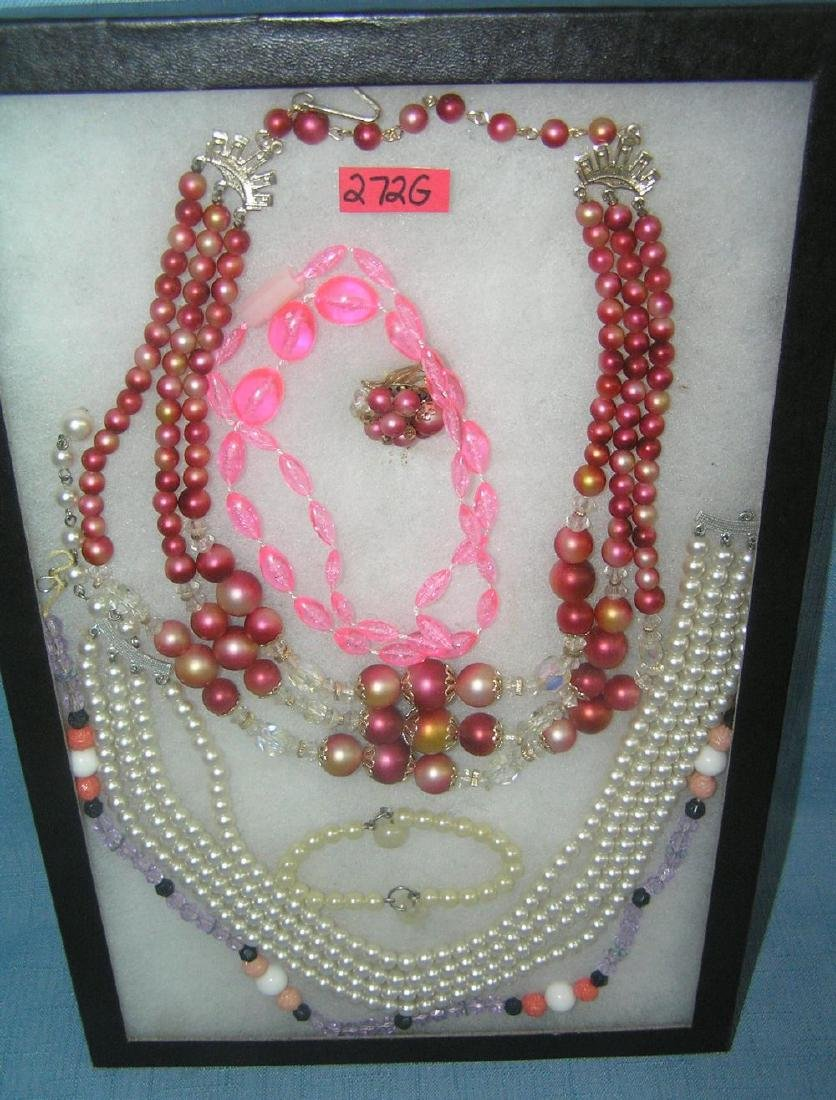 Costume jewelry bracelets, necklaces and more