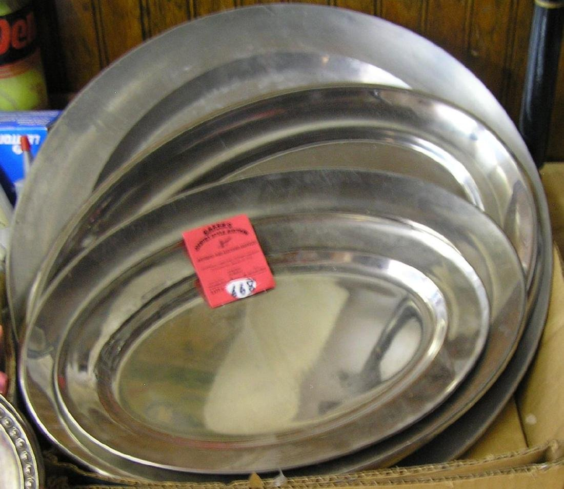 Box of serving platters