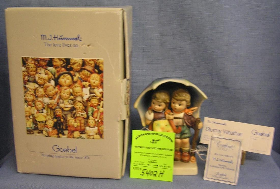 Vintage Hummel Stormy Weather figurine
