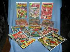 Collection of early Iron Man comic books