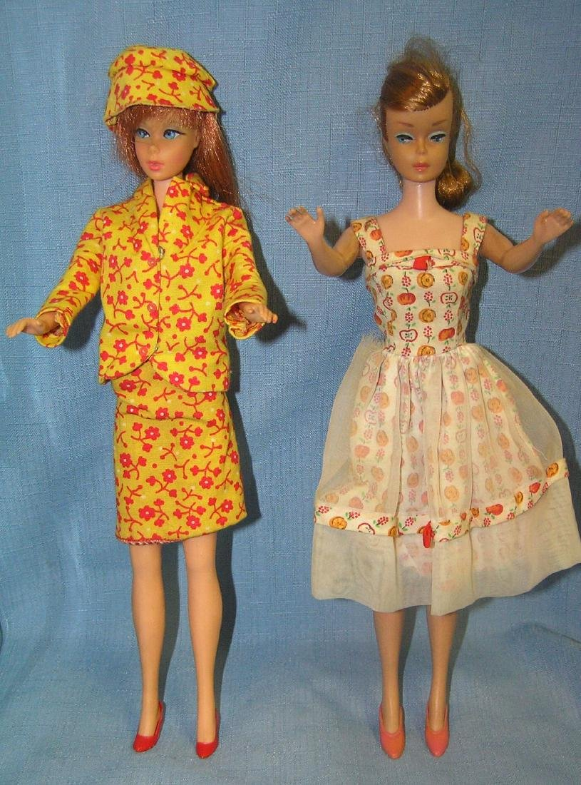 Barbie doll collection featuring 4 vintage dolls and - 6