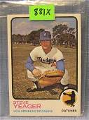 Vintage Steve Yeager rookie baseball card