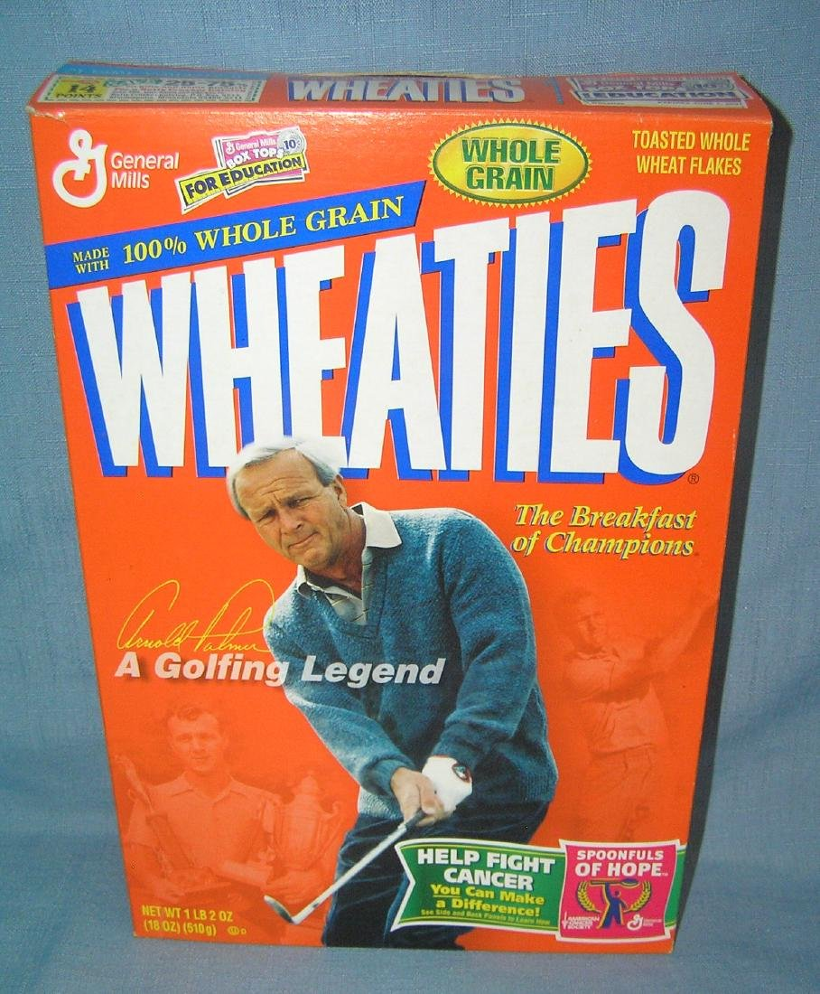Arnold Palmer Wheaties box