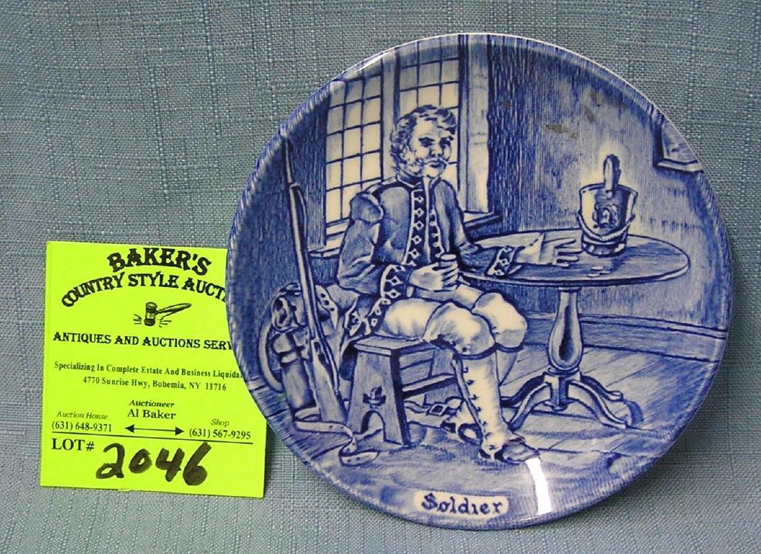 Wedgwood Revolutionary War soldier dish
