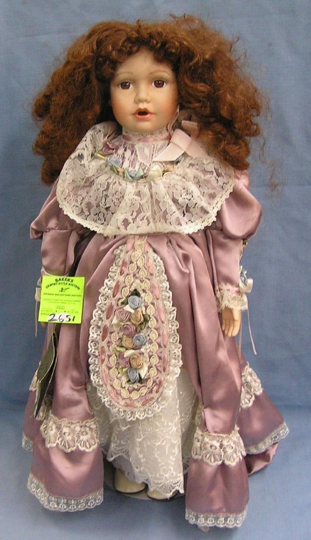 Vintage porcelain doll by Seymour Man Co.