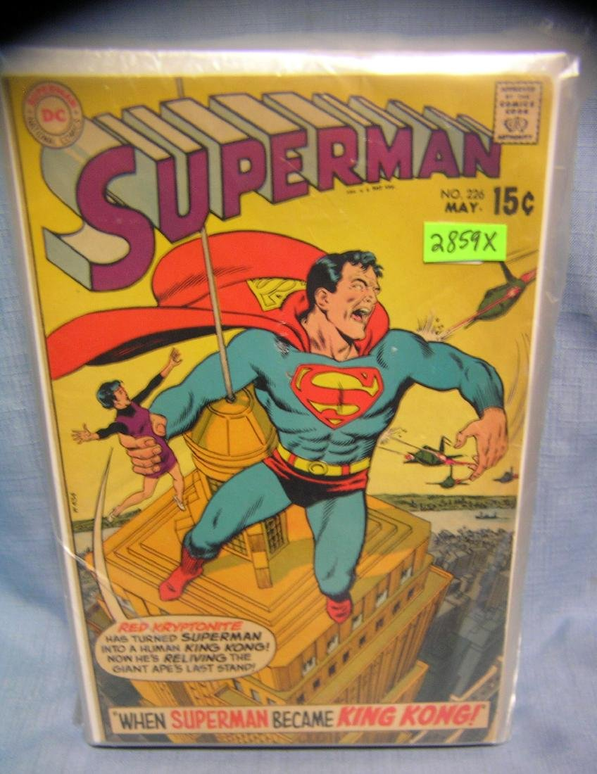 Early Superman and related comic books