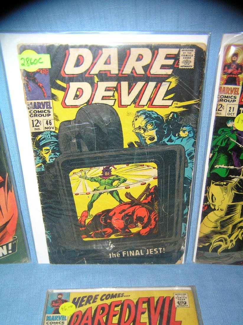 Group of early Dare Devil comic books - 2