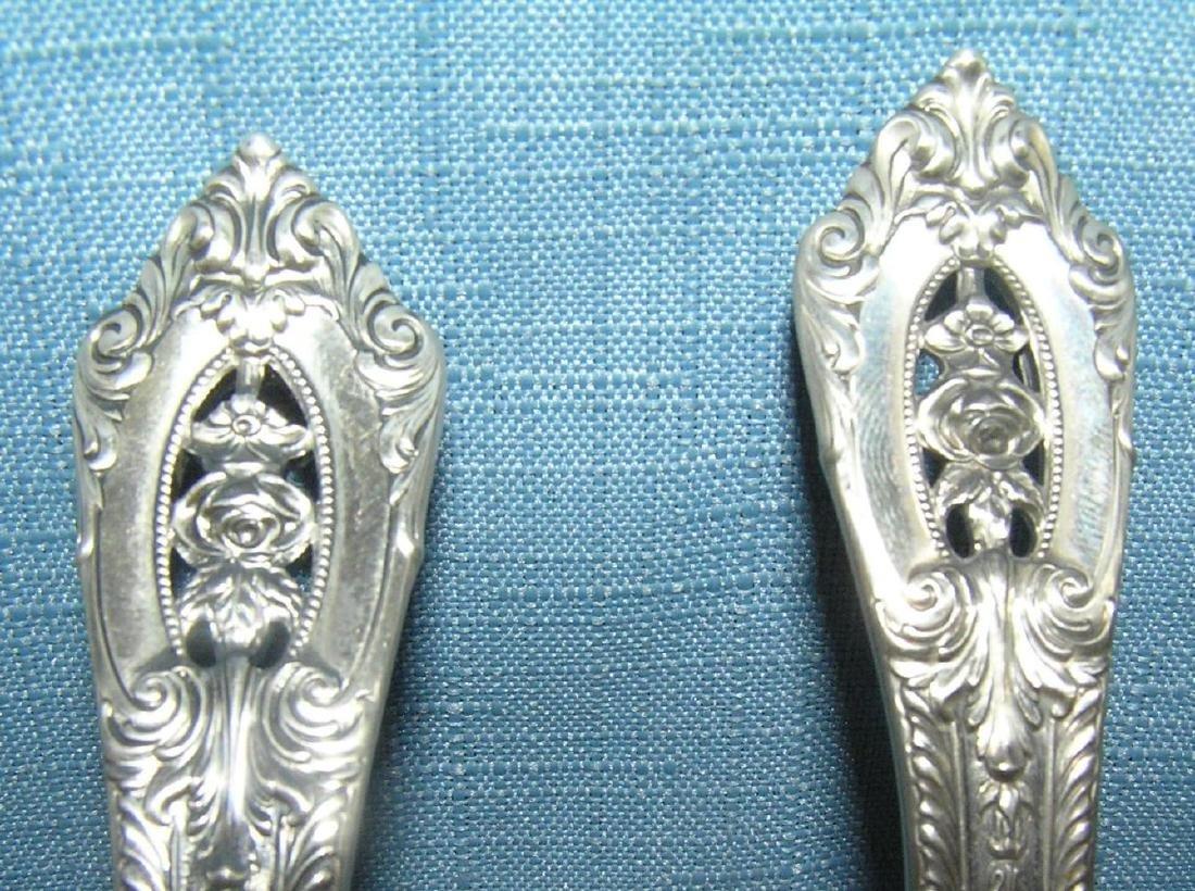 Wallace 76 piece sterling silver flatware set - 9