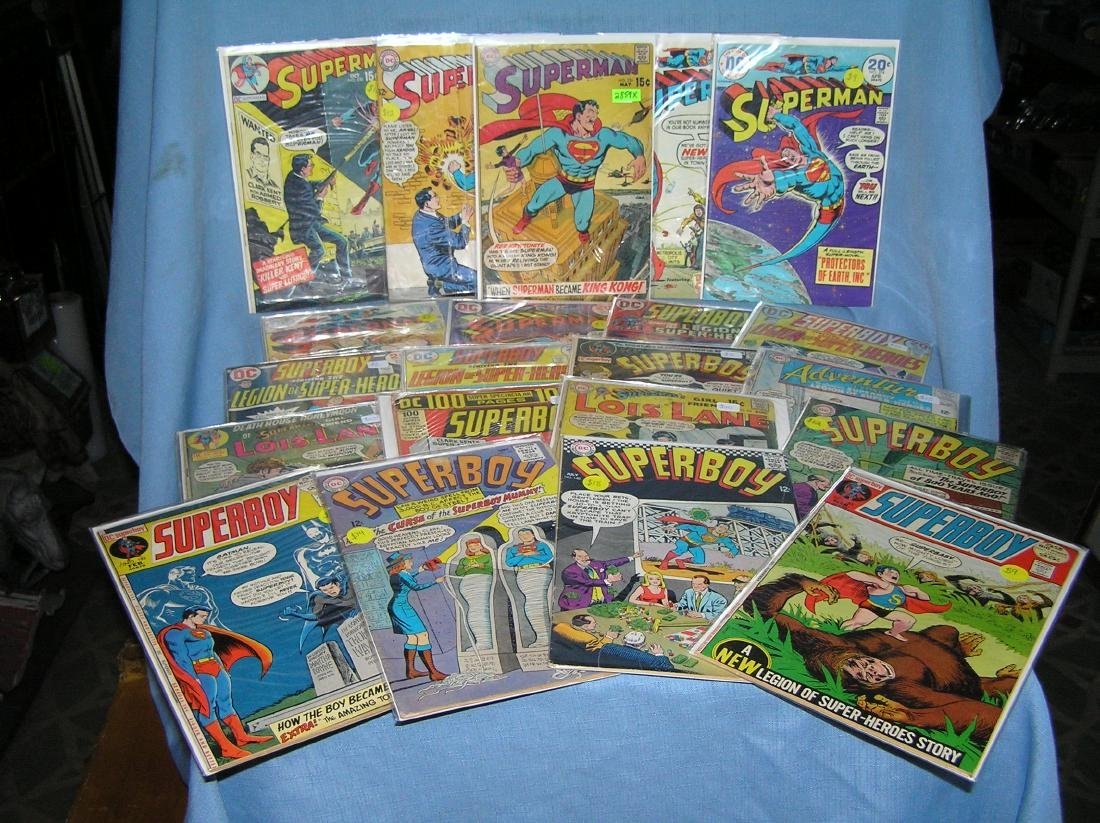 Early Superman and related comic books - 2