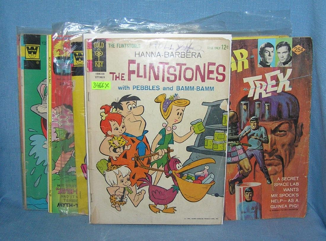 Comic and TV show related comic books