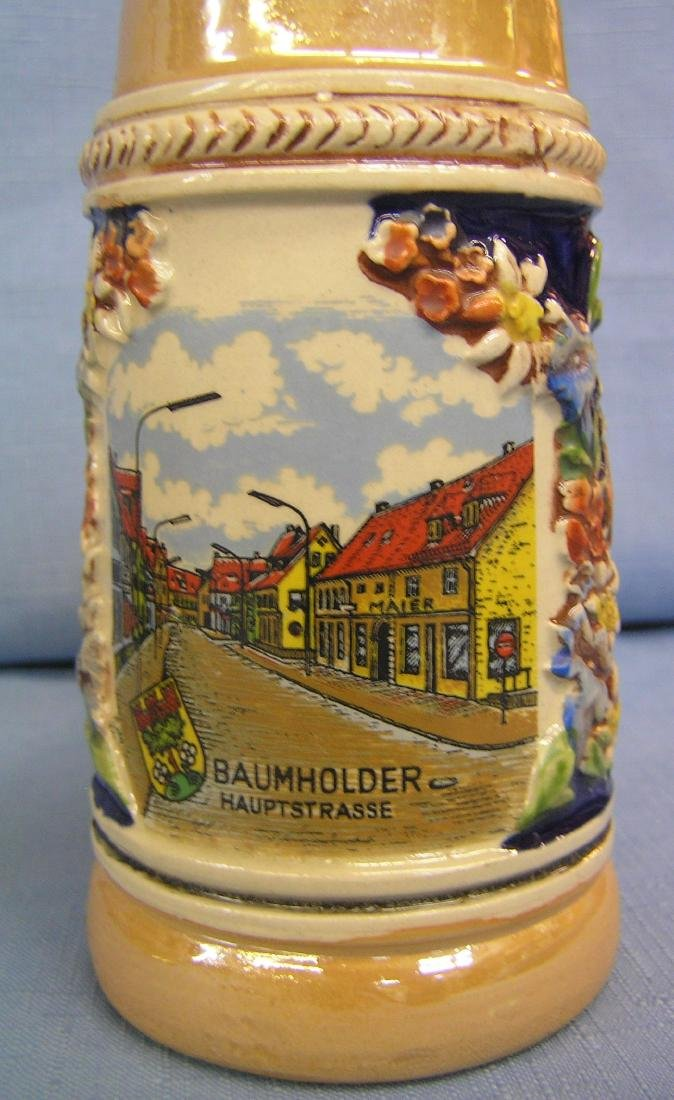 Group of 5 vintage beer steins - 5