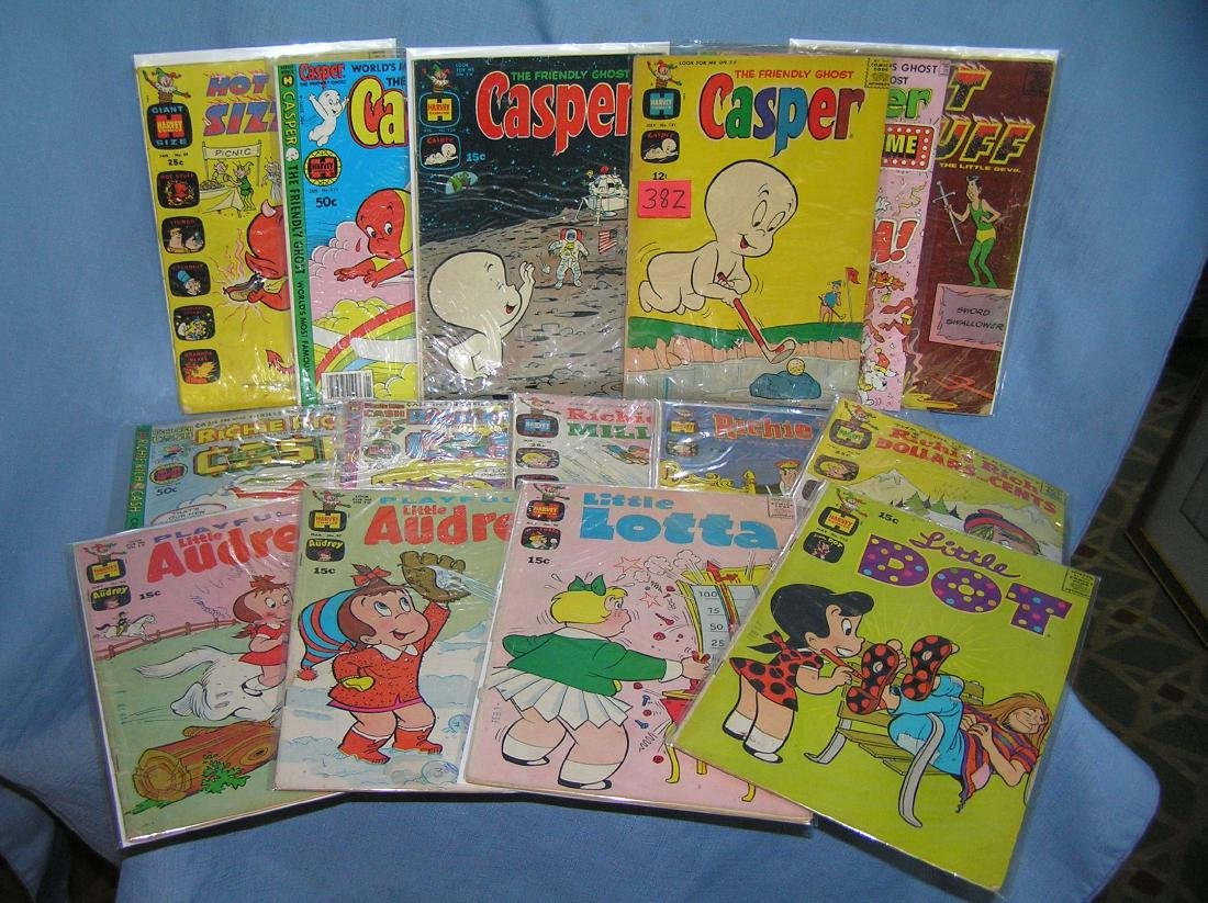 Collection of great early comic related comic books