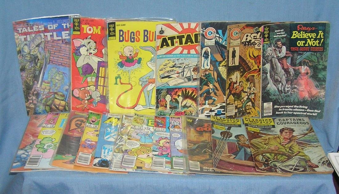 Group of early and vintage comic books