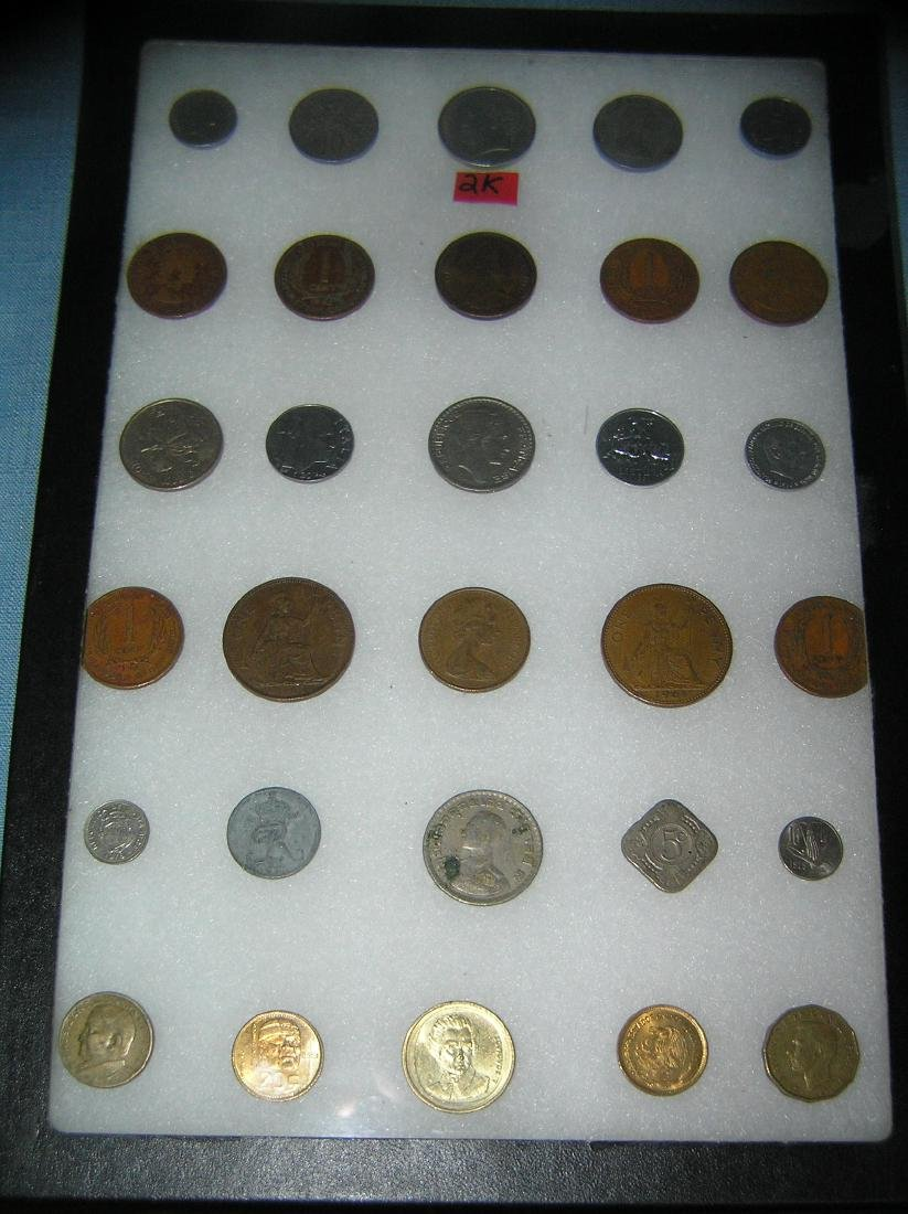 Large world coin collection