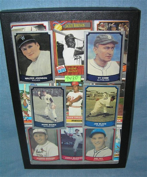 Collection Of Antique Style Retro Baseball Cards May 06 2019