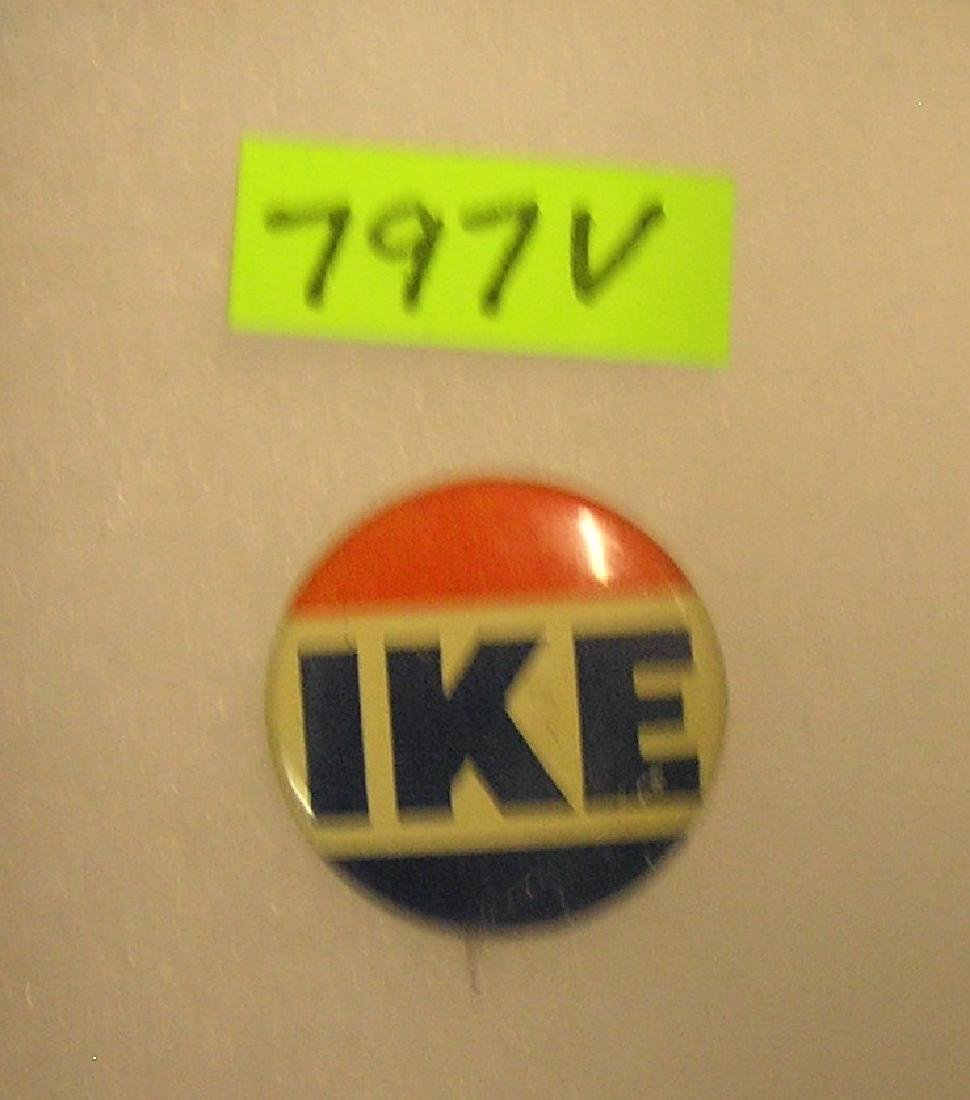 Vintage Eisenhower campaign button