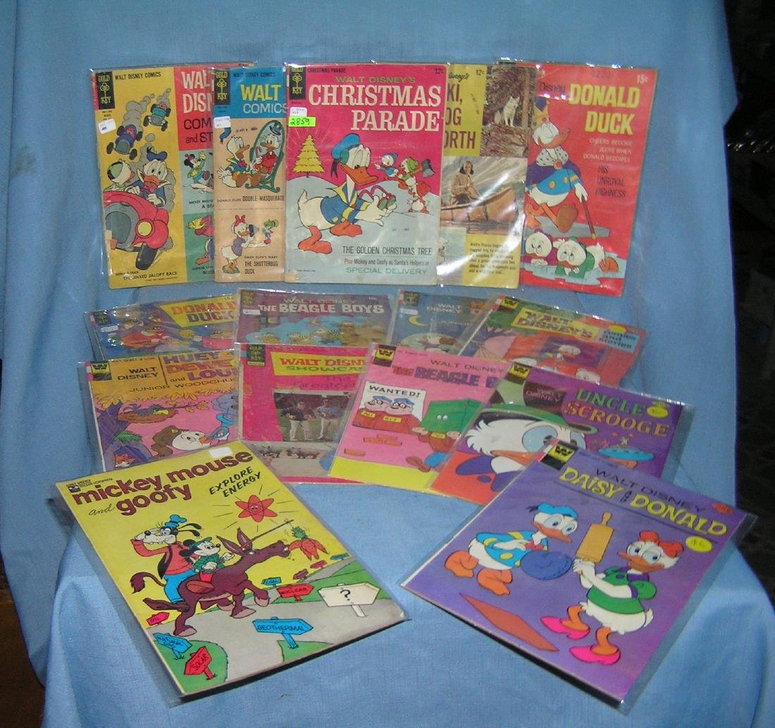 Walt Disney's comics and stories comic books