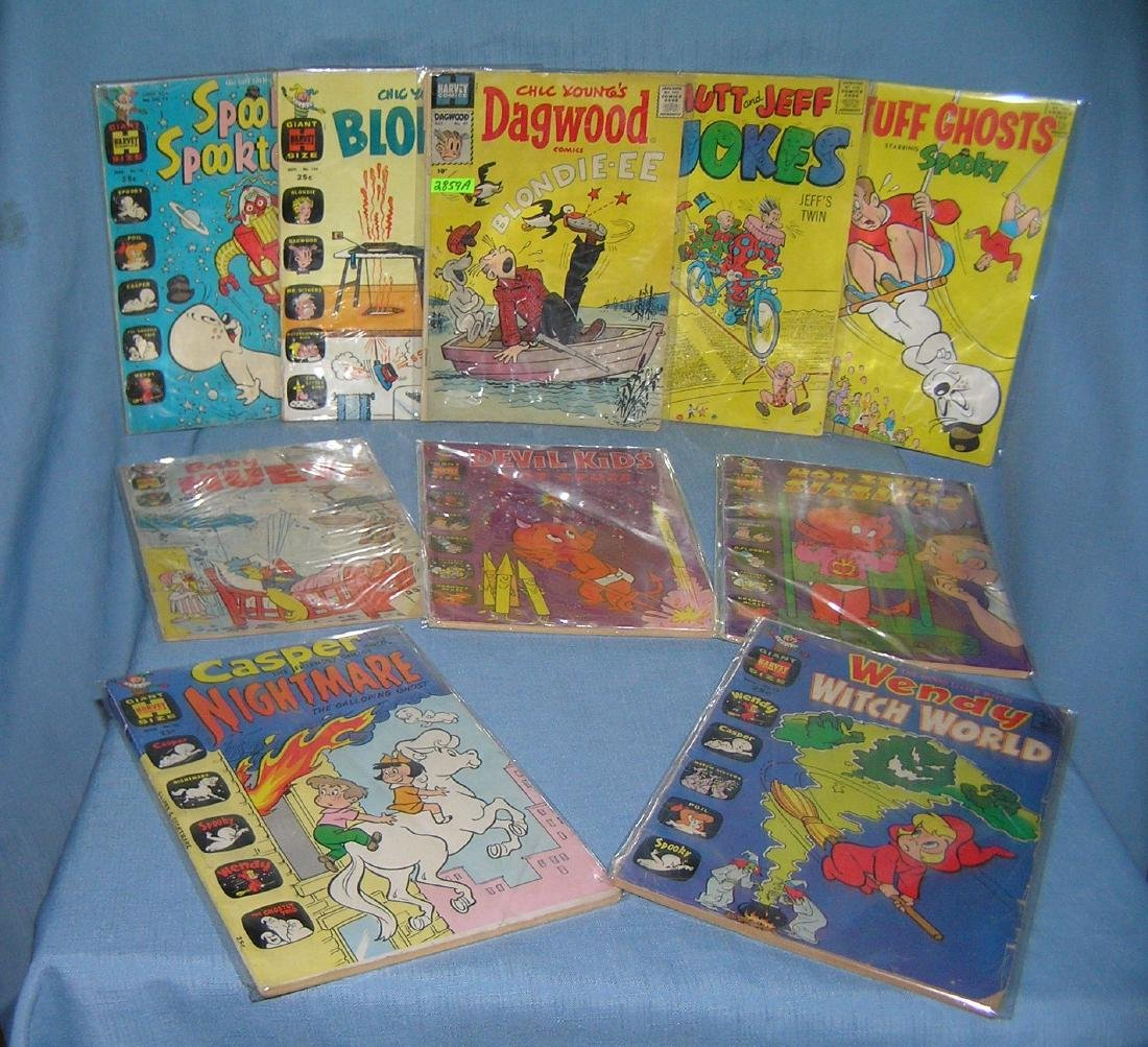 Collection of early comic related comic books