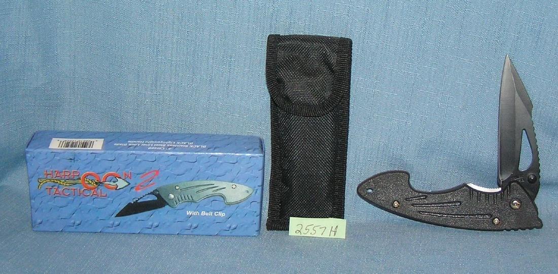 Harpoon 2 tactical pocket knife