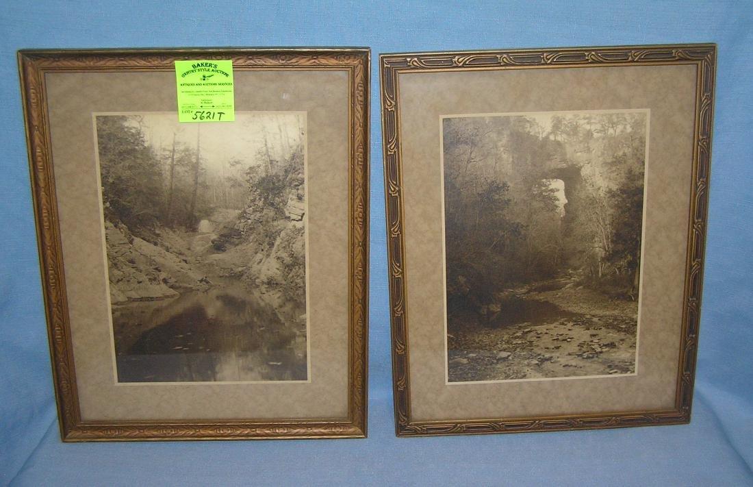 Pair of early 20th century framed photos