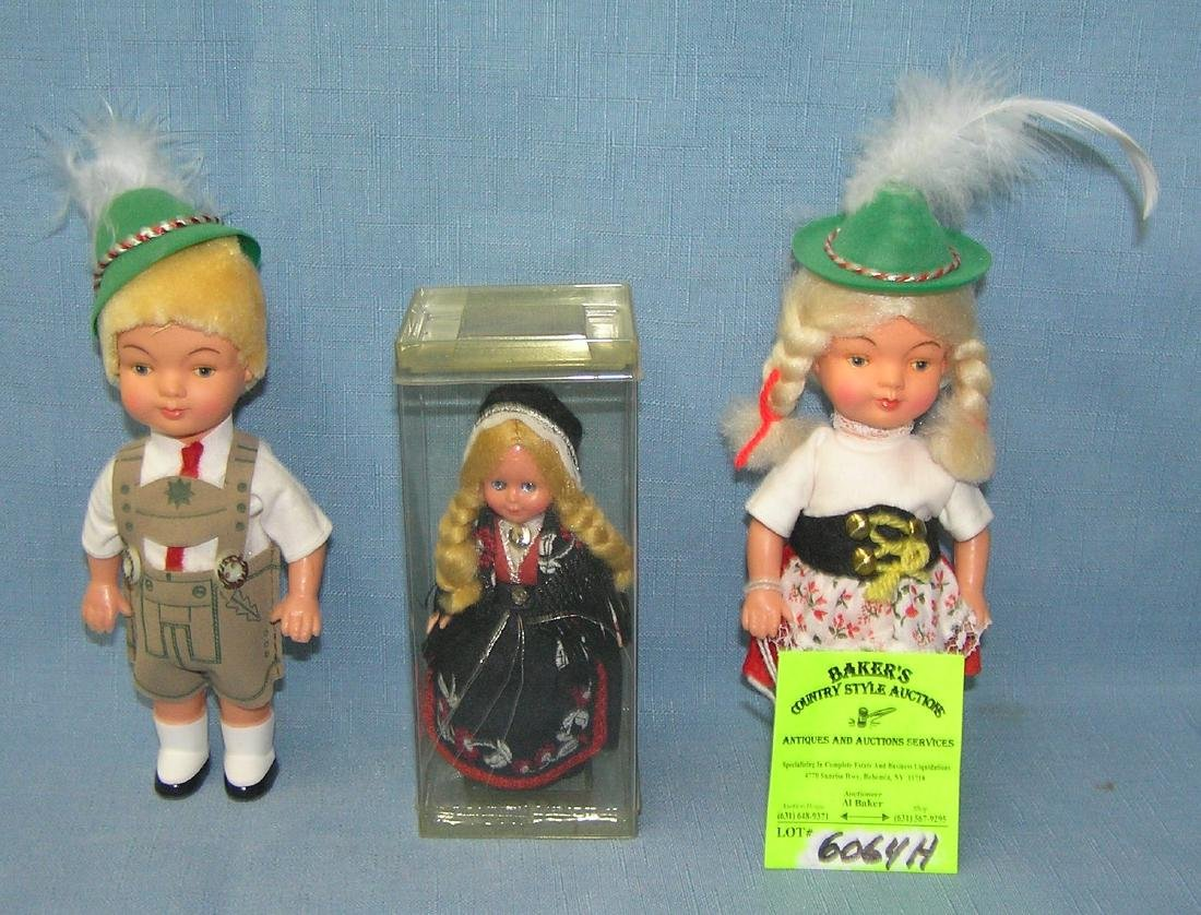 Group of 3 vintage dolls includes Hansel and Gretel