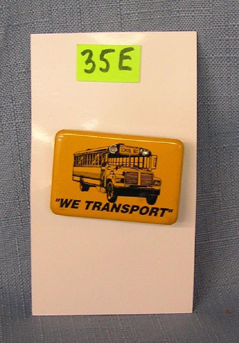 Vintage school bus Co. badge
