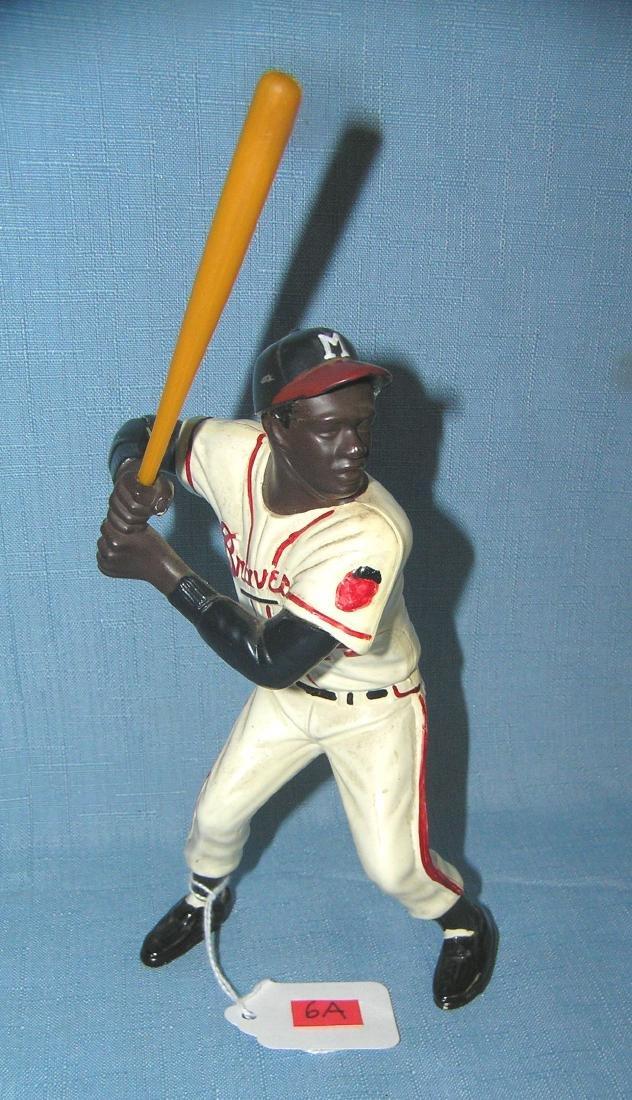 Hank Aaron hard plastic Hartland baseball figure