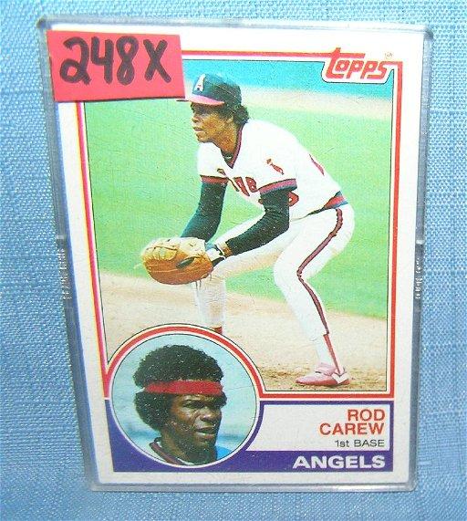 Rod Carew Vintage Topps Baseball Card Jul 07 2019