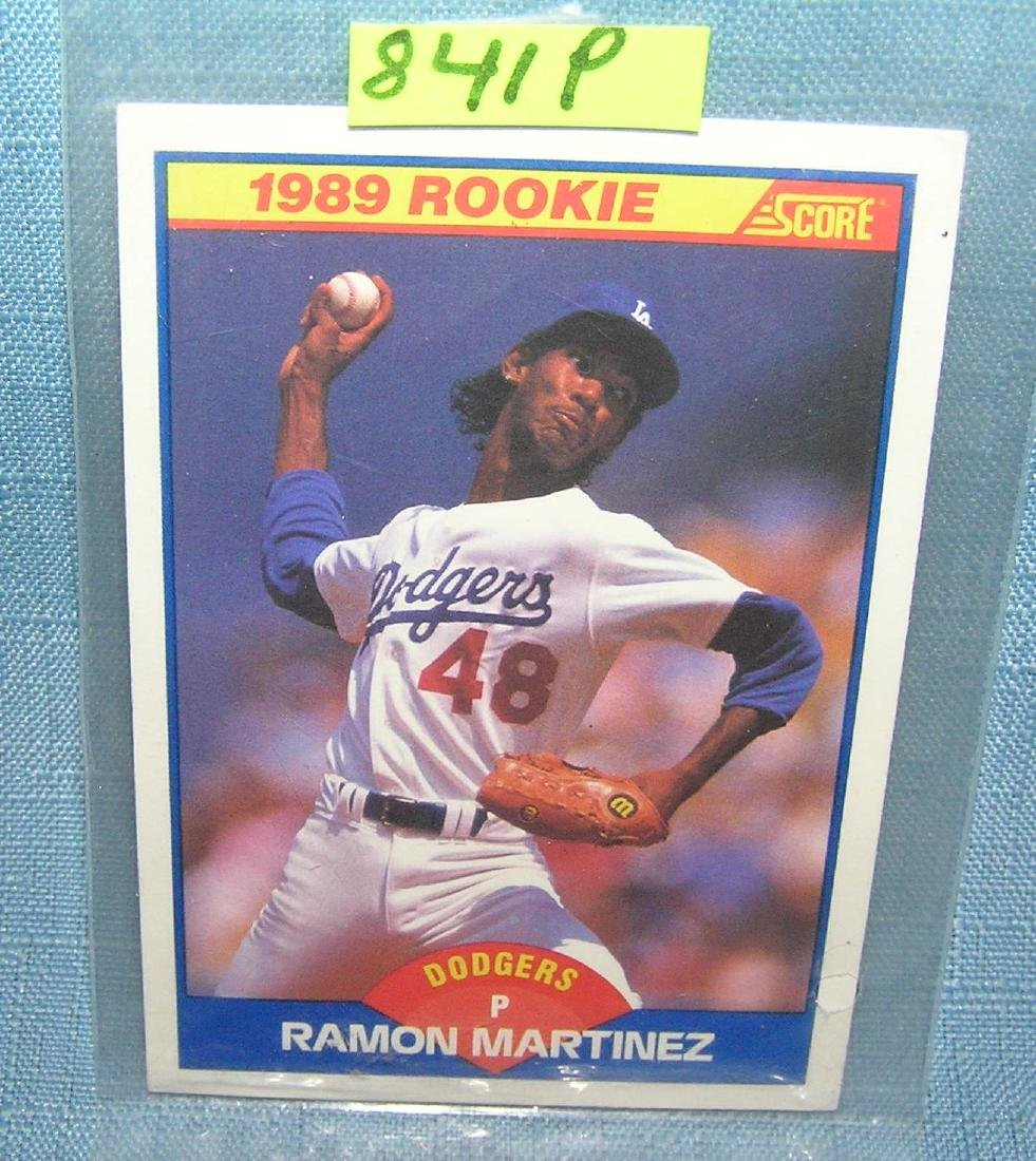 Vintage Ramon Martinez Rookie Baseball Card Jul 22 2019