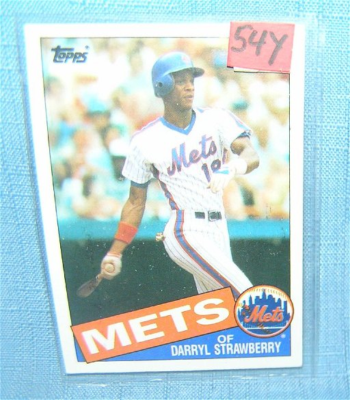 Darryl Strawberry Vintage All Star Baseball Card Jul 20
