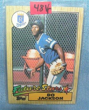 1991 Donruss Bonus Cards #BC10 Bo Jackson - Aug 06, 2016