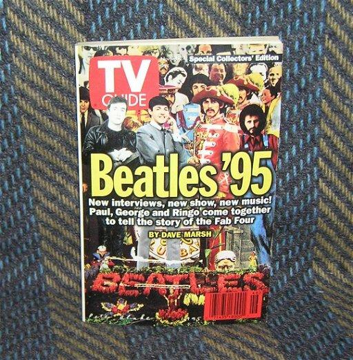 Vintage Beatles TV guide issue 1995 - Aug 15, 2019   Baker's
