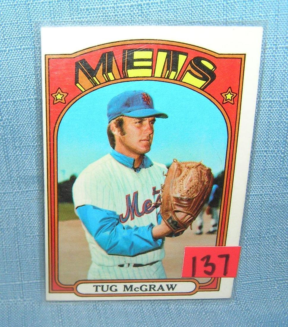 Vintage Tug Mcgraw Ny Mets All Star Baseball Card Aug 09 2019
