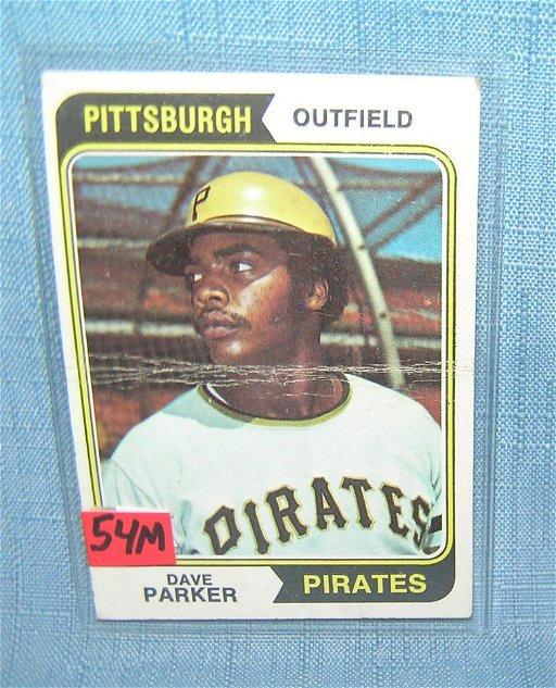 Dave Parker Vintage All Star Baseball Card Aug 10 2019