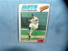 Early Tom Seaver NY Mets all star baseball card