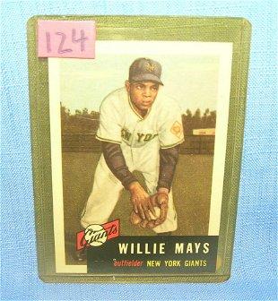 1968 Topps Willie Mays 50 Baseball Card Sep 22 2013
