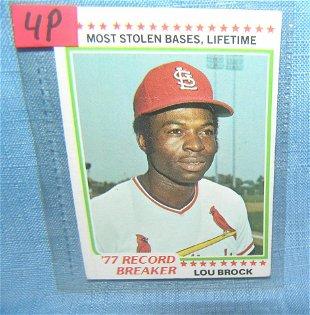8313 5 Hartland Of Ohio Baseball Figures Lou Brissi