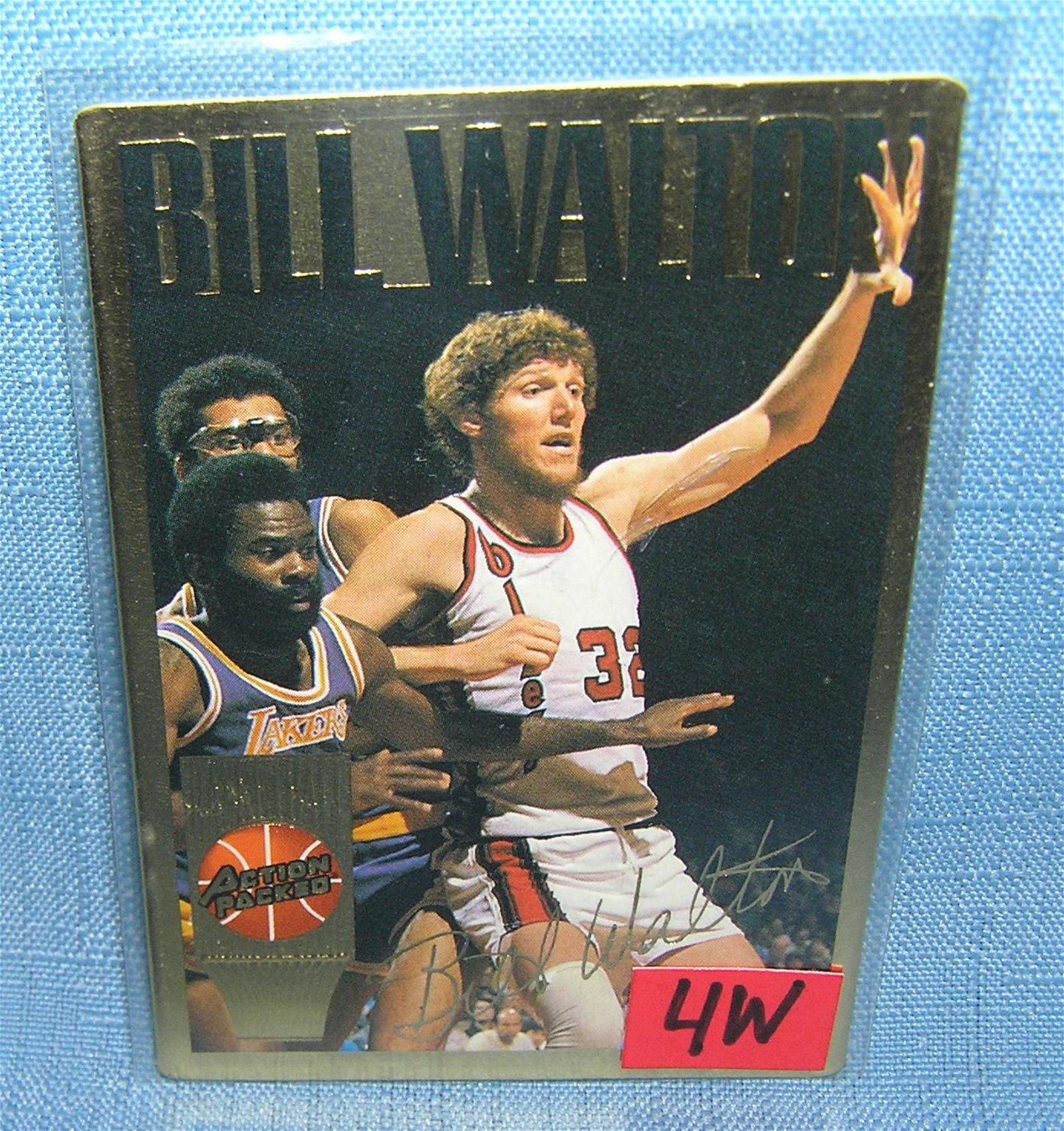 Vintage Bill Walton all star basketball card