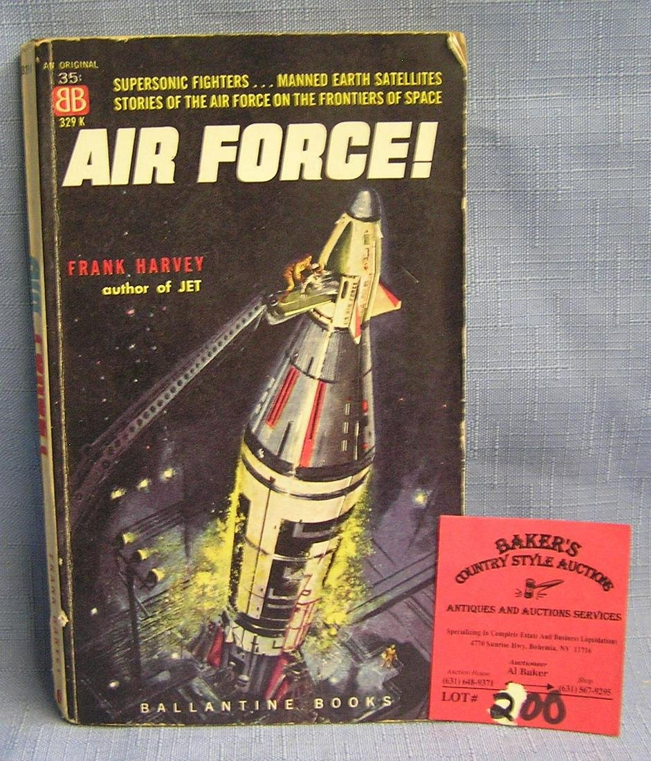 Vintage Air Force science fiction book