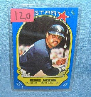 Reggie Jackson 77 Record Breaker Baseball Card Jan 27
