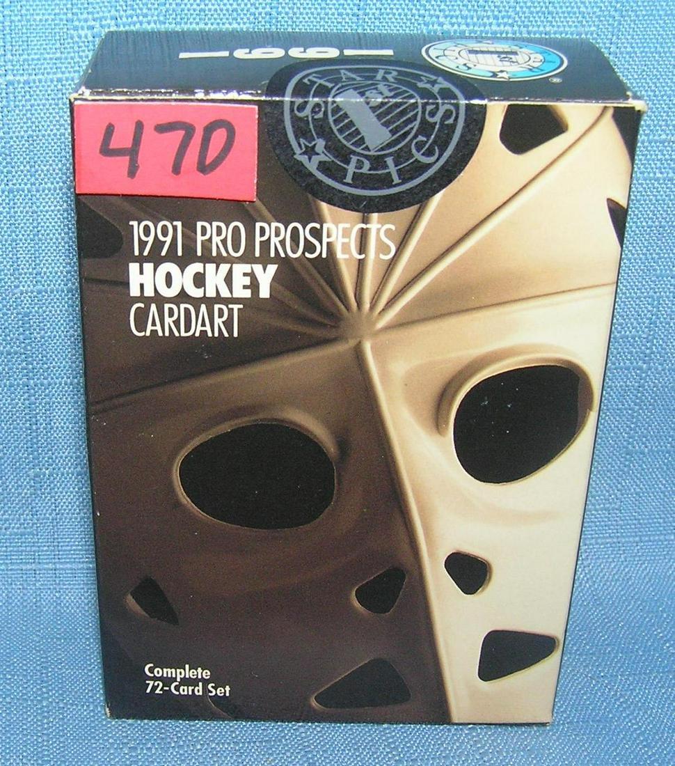 1991 prospects hockey card set