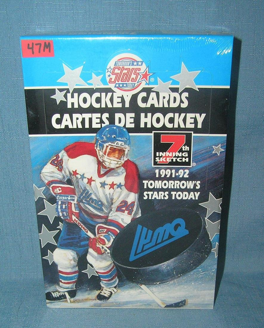 1991 tomorrow's stars hockey cards factory sealed box