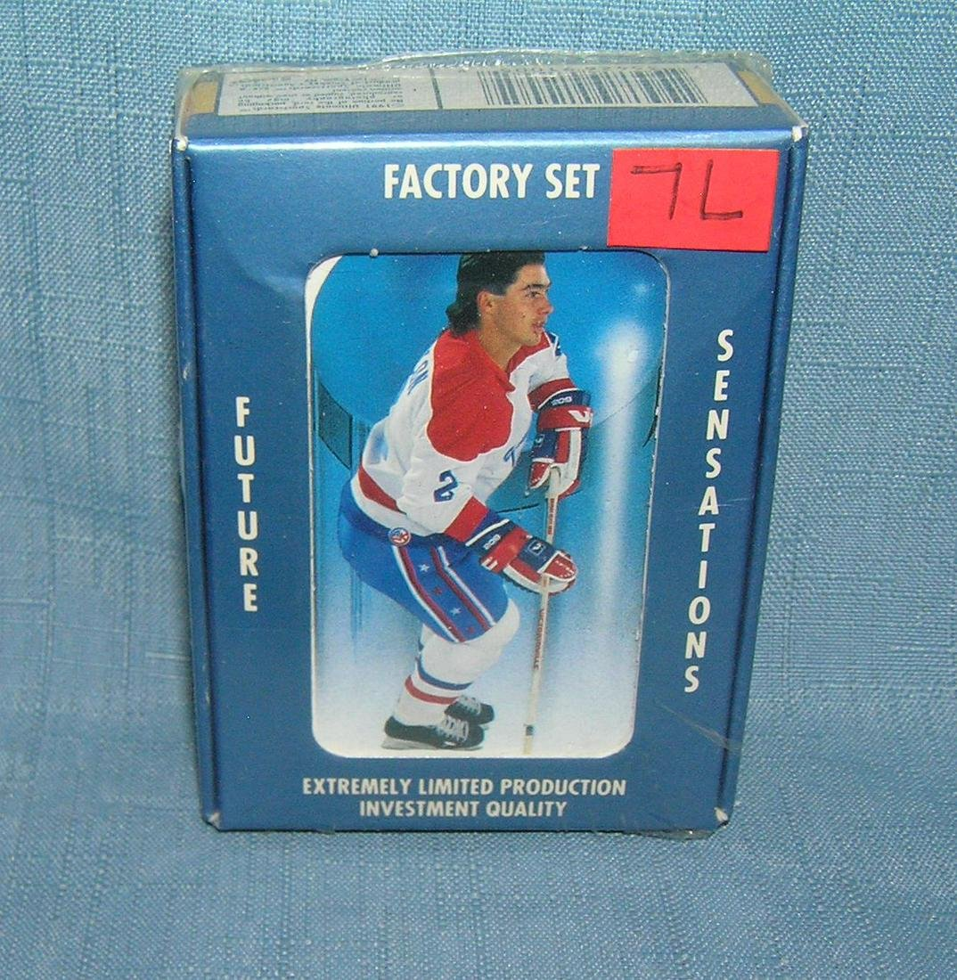 Future sensations factory sealed hockey card set