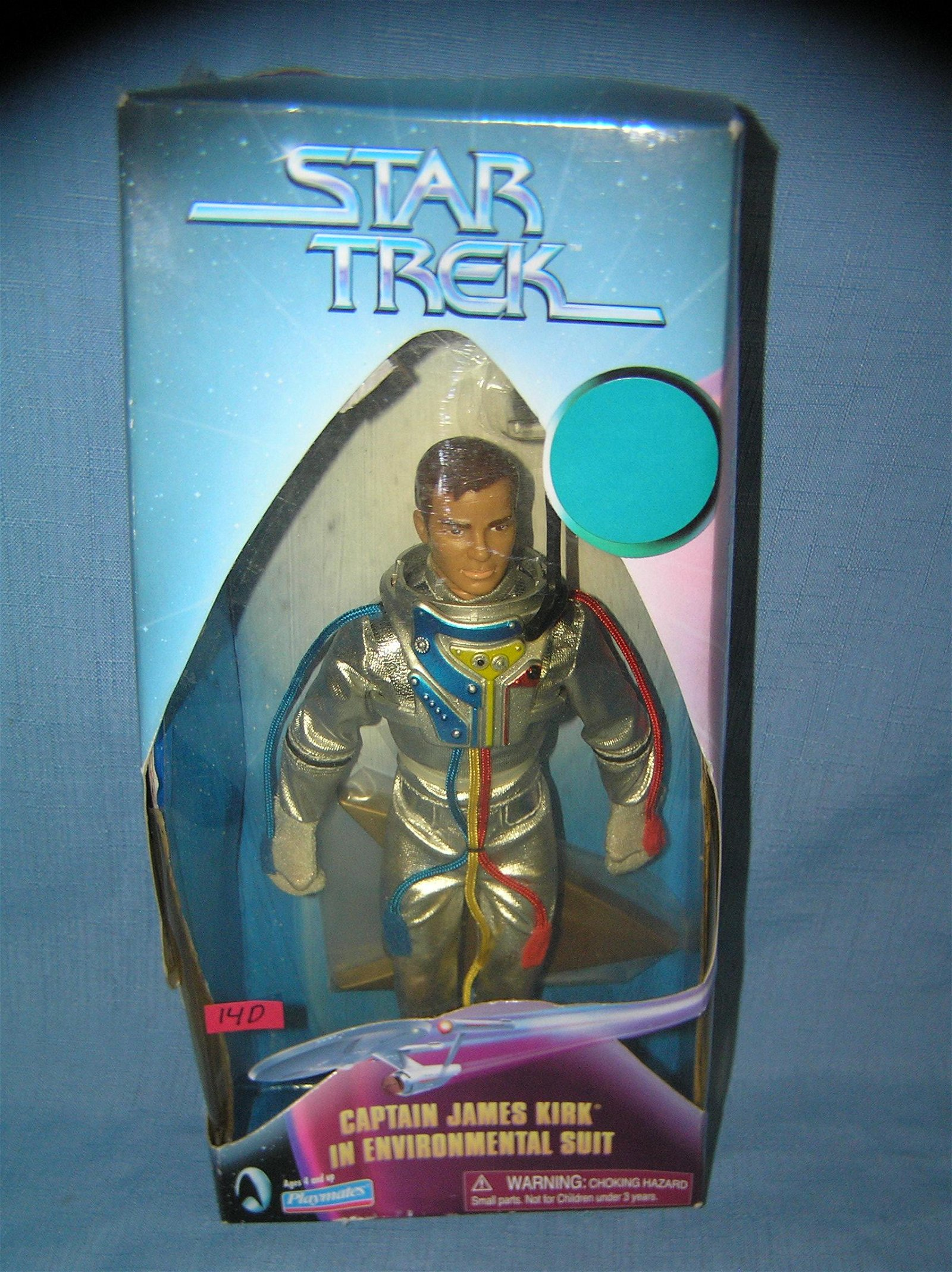 Star Trek Capt Kirk action figure with original box