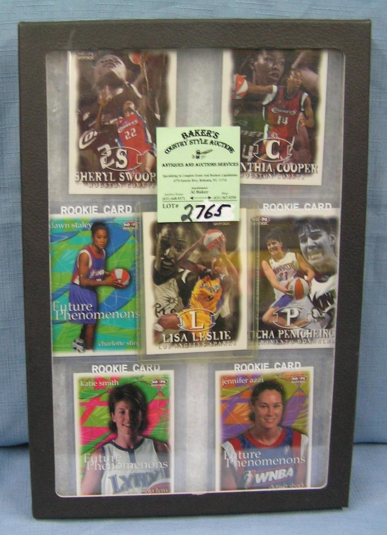 vintage all star WNBA Basketball rookie cards