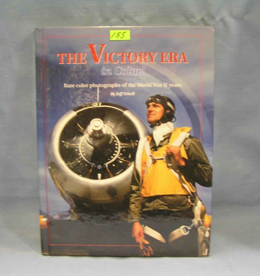 The Victory Era in color vintage book